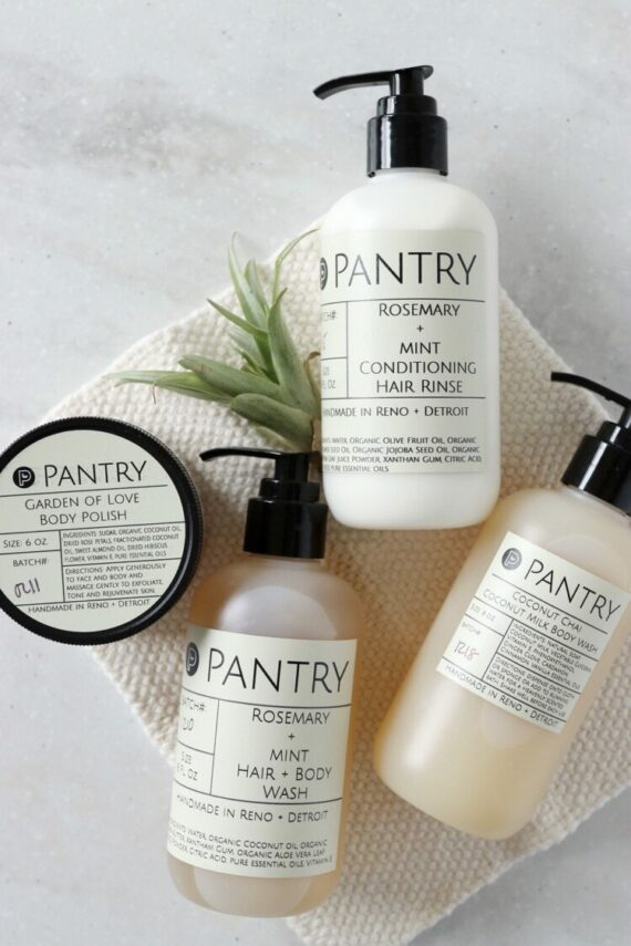 Rosemary + Mint Hair and Body Wash