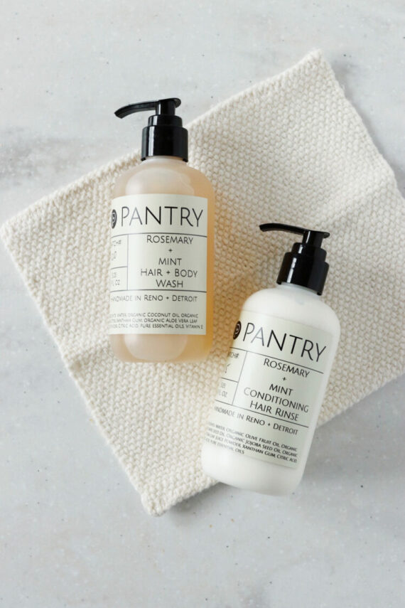 Rosemary + Mint Conditioning Hair Rinse