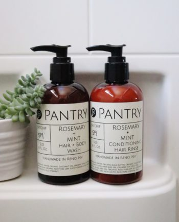 Organic Shampoo and Conditioner