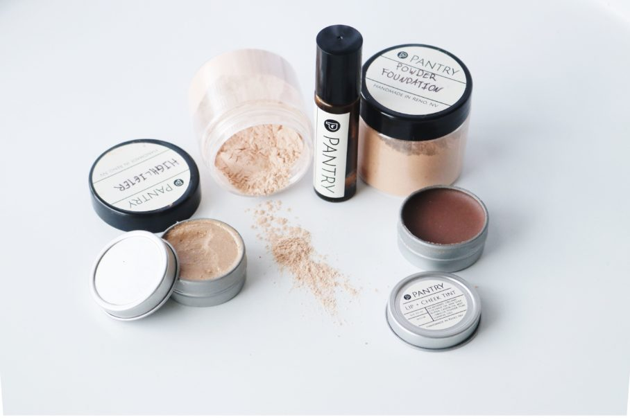 Mineral Makeup Workshop - Pantry Products