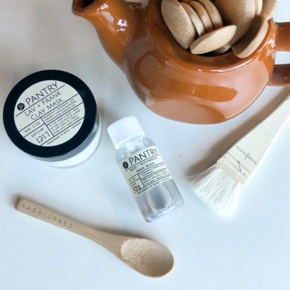Aloe + Rosewater Clay Mask Mixer